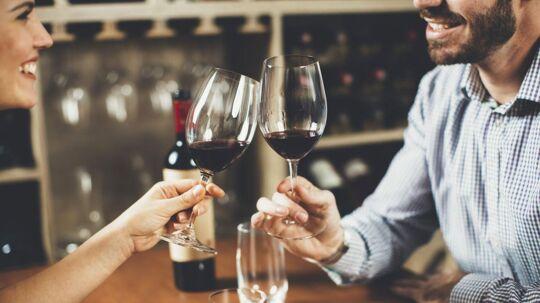 Alkohol i moderate mængder er sundt for dig.