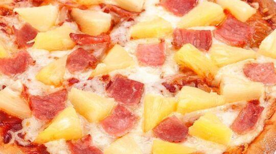 Hawaii-pizza - debatemnet, der for alvor kan skille vandene. Arkivfoto.