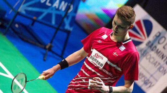 Viktor Axelsen: »Det er selvfølgelig skuffende at ryge ud i kvartfinalen, men ikke når det er til Lin Dan, der spiller på den måde.«