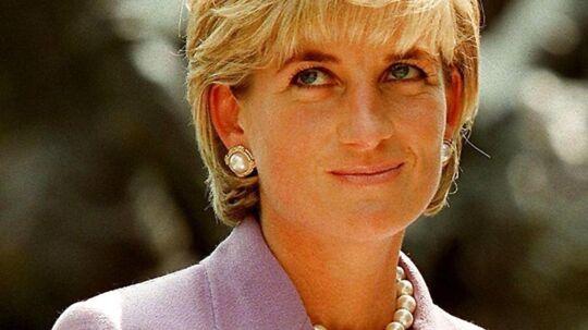 Her ses et billede af Diana, prinsesse af Wales 17. juni 1997