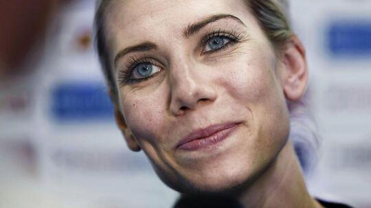 Louise Svalastog har i mange år været med på det danske landshold.