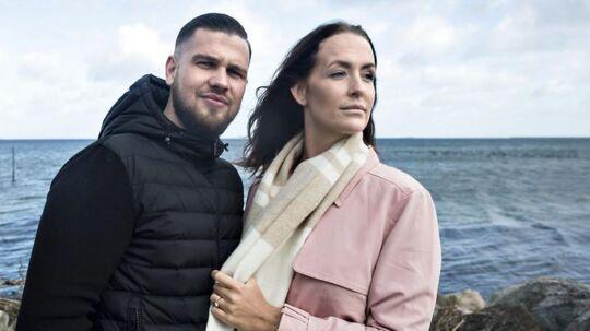 Cengiz Mads Salvarli og Stephanie 'Geggo' Karma Christiansen.