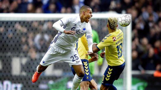 FCK og Brøndby møder hinanden to gange i slutspillet om mesterskabet.