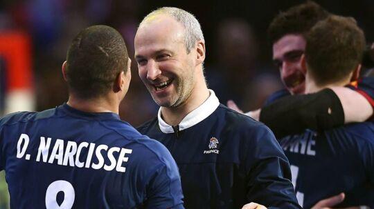 Ifølge adskillige franske medier har Thierry Omeyer (th.) og Daniel Narcisse meddelt, at de stopper på landsholdet.