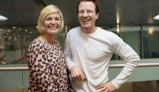 Markus Grigo (th.) og Katrine Foged Thomsen (tv.)
