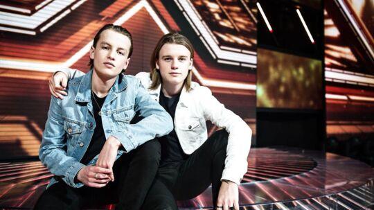 X Factor-gruppen VKation bestående af Victor og William.