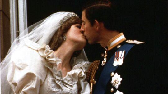 De så lykkelige og forelskede ud under brylluppet. Men glæden blev kort for prins Charles og prinsesse Diana.