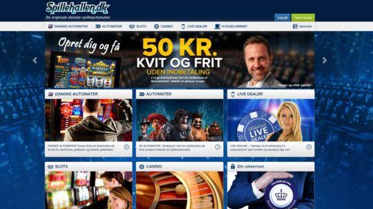 Spilleselskabet, der nu er solgt, står blandt andet baf onlinekasinoet 'Spillehallen.dk'.