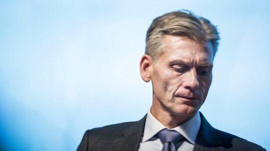 Thomas F. Borgen, topchef i Danske Bank. Arkivfoto