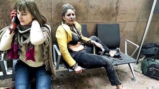 Billedet af den sårede Nidhi Chaphekar gik verden rundt efter terrorangrebet i Zaventem-lufthavnen for 22. marts 2016. I dag er hun på benene igen og planlægger et besøg til den by, hvor hendes liv var ved at ende for et år siden.