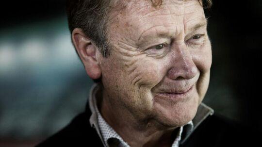 Åge Hareide regnede med fire år som landstræner, da han indgik kontrakt med DBU. Kontrakten kan brydes i 2018
