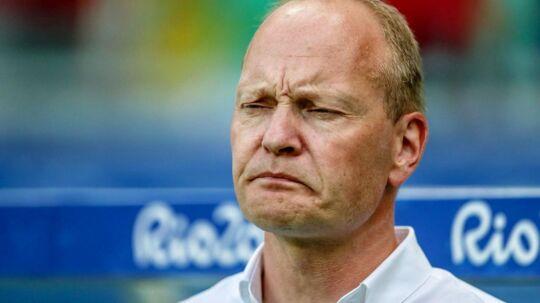 Niels Frederiksen, Danmarks U21-landstræner.