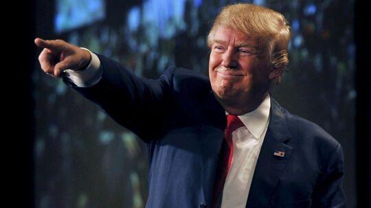 'Jeg er præsident. Og det er du ikke.« Sådan siger den amerikanske præsident Donald Trump i et nyt interview med Time Magazine. Hermed citerer præsidenten en af sine komedie-idoler, Chevey Chase.