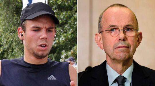 Andenpiloten Andreas Lubitz (tv) fik hele skylden for Germanwings-katastrofen, som kostede 150 mennesker livet. Nu forsøger hans far, Günter Lubitz (th), at rense sin søn.