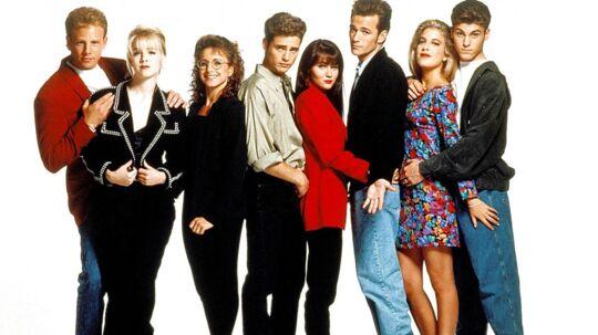 Castet fra den populære ungdomsserie Beverly Hills 90210.