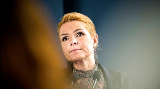 Arkivfoto 2016 af udlændinge- og integrationsminister Inger Støjberg.