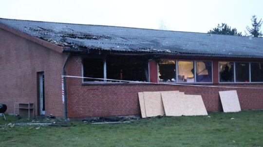 Søndag morgen modtog Sydøstjyllands Politi en anmeldelse om brand.