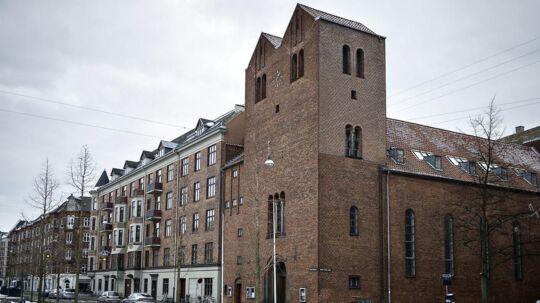 Absalon Kirke på Vesterbro i København blev i 2014 overtaget af Lennart Lajboschitz, der er manden bag Tiger-butikkerne.