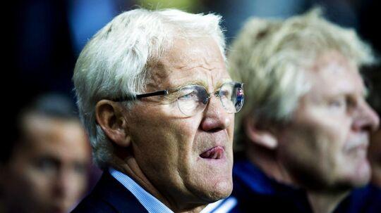Morten Olsen har ingen kommentarer til det hollandske landstrænerjob.