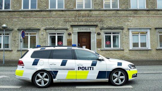 Et mistænkeligt brev har lukket Retten i Aalborg. Forsvarets sprængstofeksperter er sat på sagen. ARKIVFOTO.