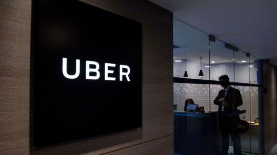 Uber lukker i Danmark.