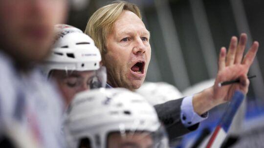 Olaf Eller har været træner for stribevis af danske klubber, her er det Herlev Eagles.