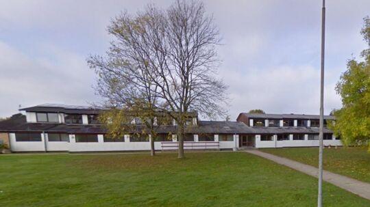 Højmarkskolen i Holsted.