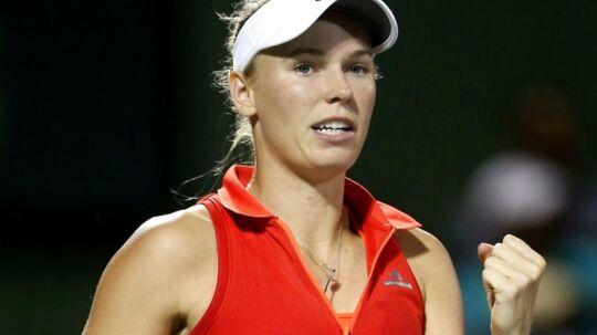 Caroline Wozniacki er i gang med en succesrig periode, der begyndte under grand slam-turneringen US Open.
