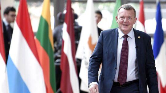 Lars Løkke Rasmussen ankommer torsdag til Det Hvide Hus for at tale handel og forsvar. Foto: STEPHANE DE SAKUTIN/Scanpix 2017)