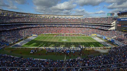 Organisationen SoccerCity SD vil gøre Qualcomm Stadium til hjemmebane for fodboldholdet. Qualcomm Stadium er i dag hjemmebane for NFL-klubben San Diego Chargers Stadionet.