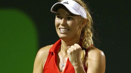 Aldrig før i tenniskarrieren har Caroline Wozniacki spillet bedre, mener Michael Mortensen, der spår hende gode chancer for nå WTA-finalen i Miami.