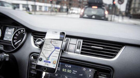 ARKIVFOTO fra Uber-kørsel i Danmark. Billedet har ikke noget med historien at gøre.