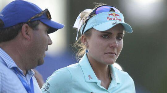 Lexi Thompsonkunne ikke holde tårerne tilbage. efter at sejren glippede.