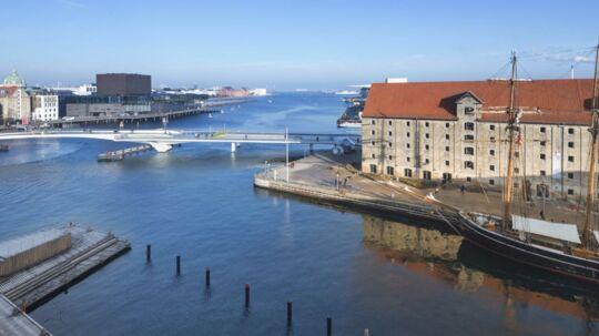 Fantastisk udsigt fra toppen af Peter Asschenfeldts - nu tidligere - lejlighed.