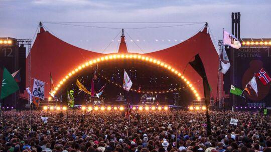 Arkivfoto: Orange Scene på Roskilde Festival.