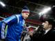 Fodboldlandsholdet træner på Wembley