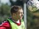 Fodboldlandsholdet træner Fodbold