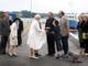 Dronning Margrethe og prins Henrik besøger Faaborg