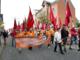 Støttedemonstration til fordel for 3Fs blokade af Restaurant V