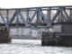 Jernbanebro i Limfjorden påsejlet