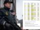 En politibetjents skema