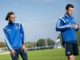 Fodboldlandsholdet træner