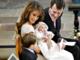 Prins Joachim og prinsesse Marie holder barnedåb i Møgeltønde