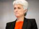 Annette Vilhelmsen på talerstolen