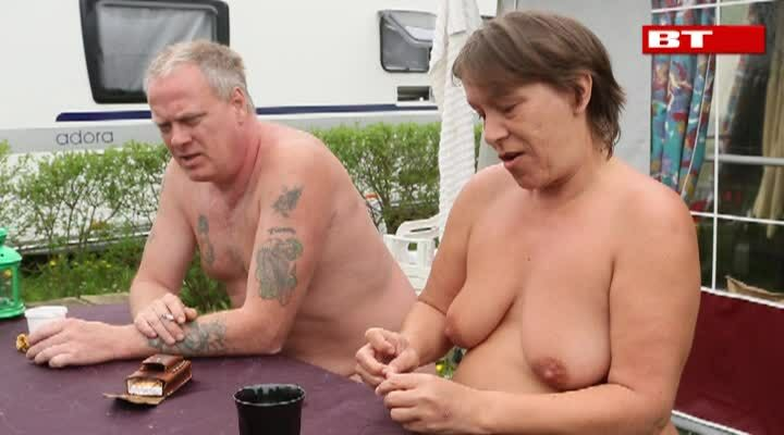 Tranny creampie orgie