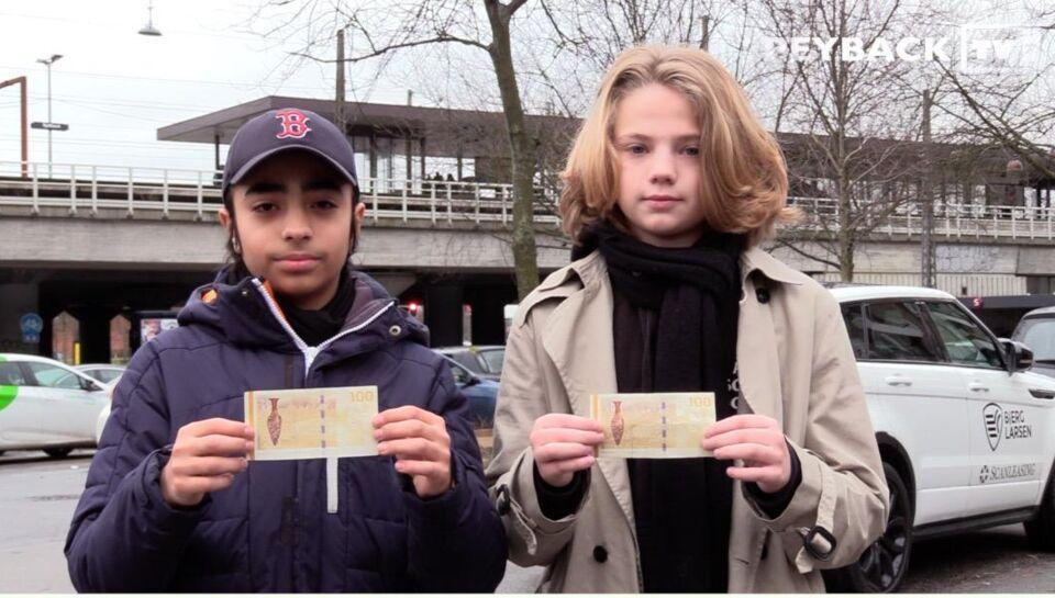 13-årige William og Markan tilbyder 100 kr. til danskerne - hvis de gør én ting i supermarkedet ...