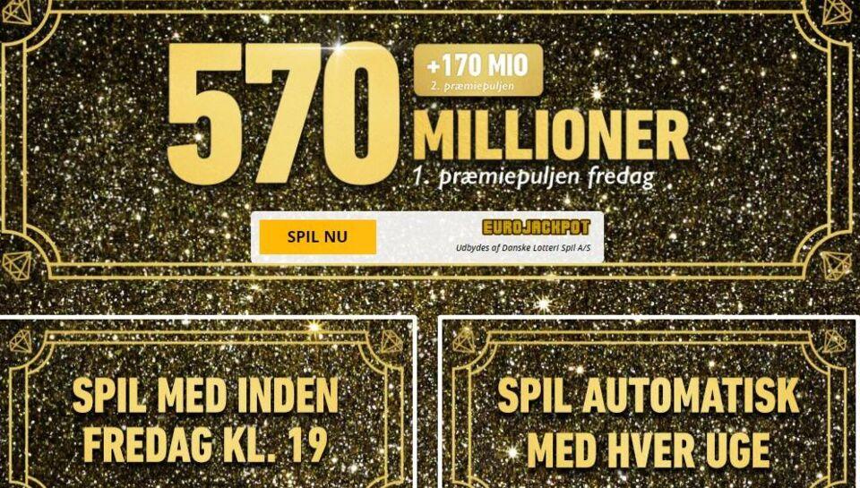 euro lotto danske spil