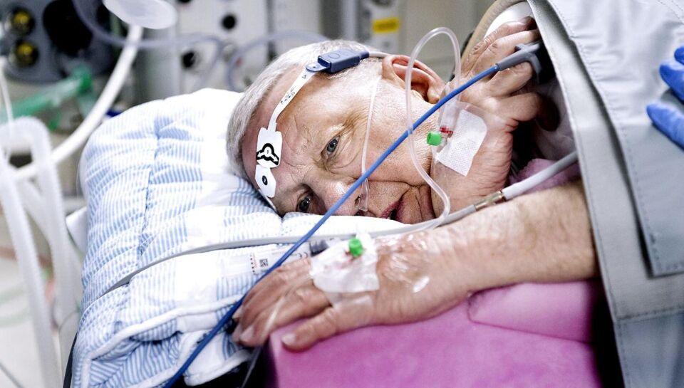 Poul Nielsen har kræft i sin venstre nyre. Derfor ligger