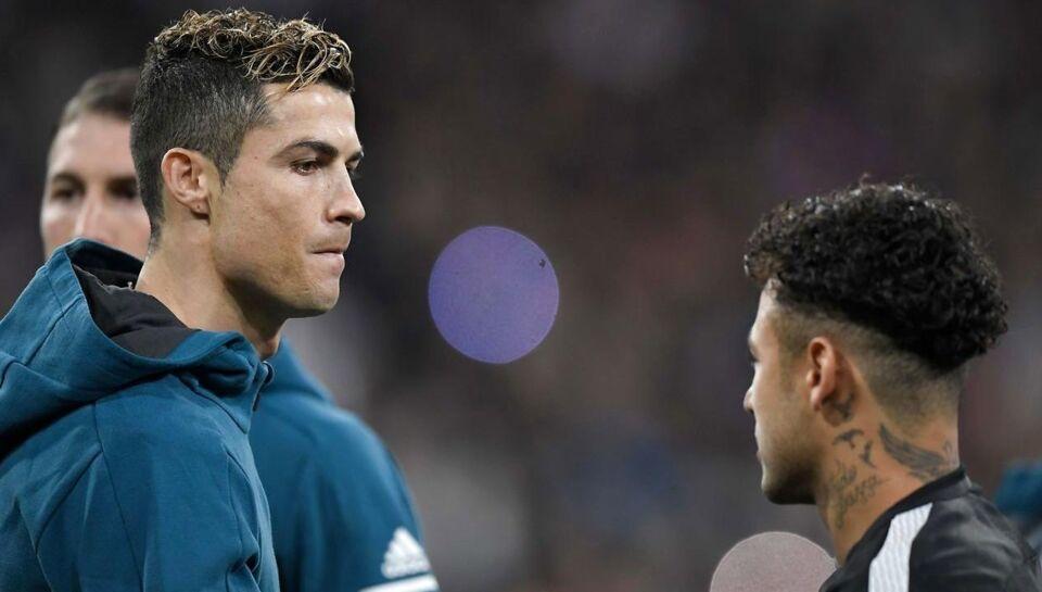 Cristiano Ronaldo og Neymar på samme hold.Det er en tanke,