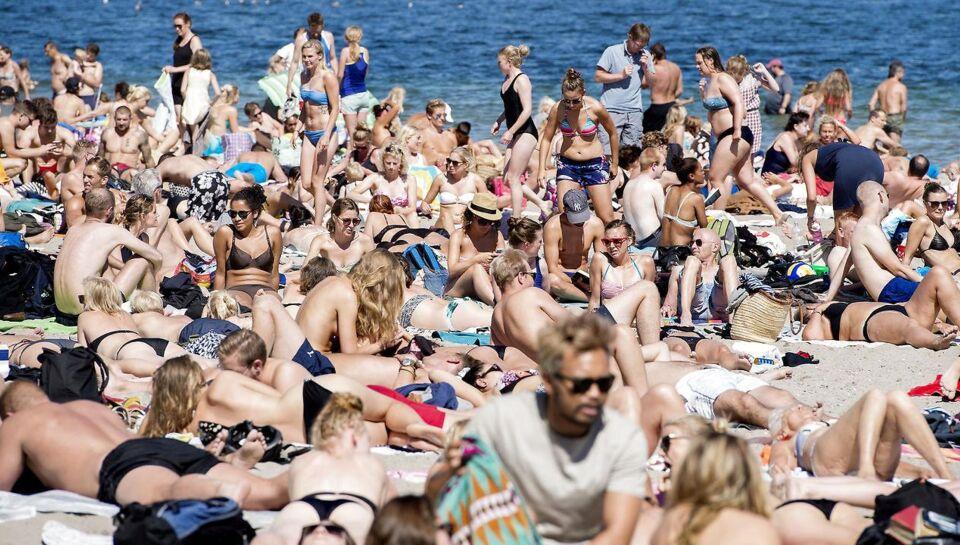 Den vilde varmebølge over Danmark fortsætter onsdag og resten af